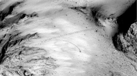 火星の建造物や生命写真12
