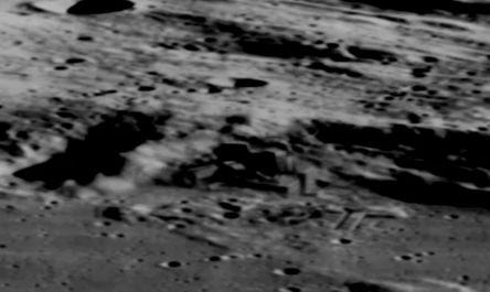 月面の模様