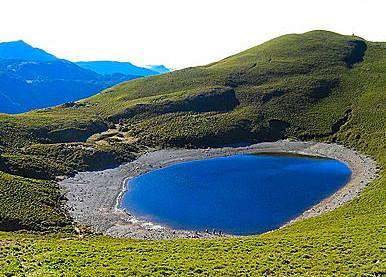 嘉明湖写真