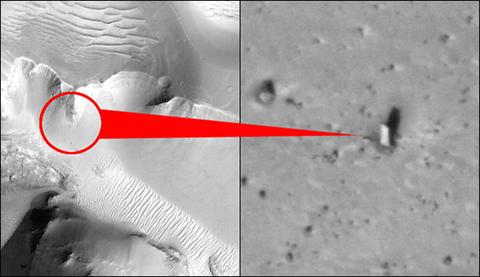 火星の建造物や生命写真28