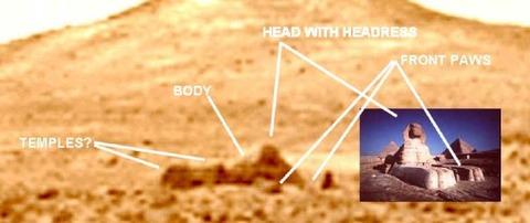 火星の建造物や生命写真10