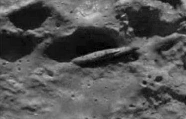 月面のUFOその1